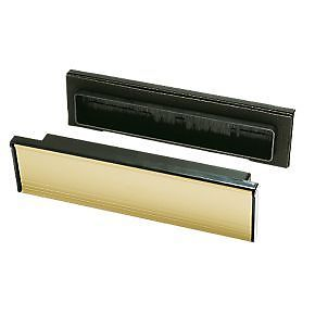 upvc wooden sleeve brush sealed telescopic letter box postal plate cover tidy letter box cover
